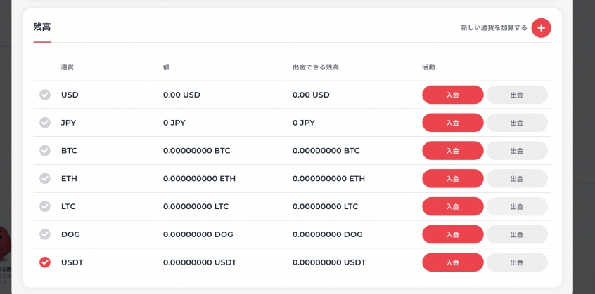 yoju-currency-list